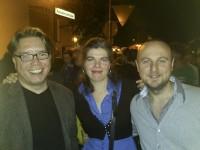 Uli Heckmann und wir auf dem Karlsdorfer Straßenfest