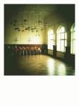 Die wunderschöne Aula der Helmholtzschule in Leipzig