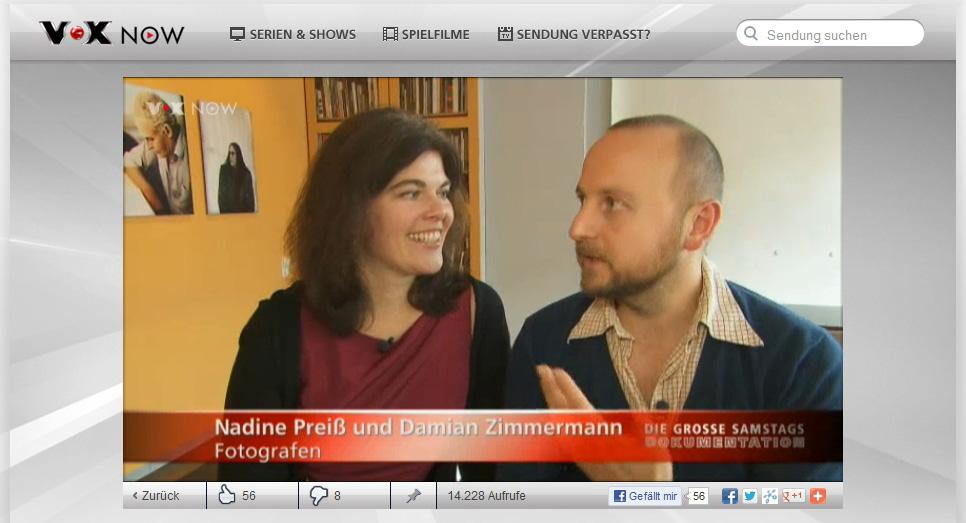 Paareprojekt bei spiegel tv for Spiegel tv dokumentation