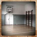 Die Turnhalle in der Alten Schule