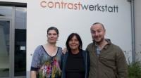 Journalistin und Filmemacherin Ellen Rudnitzki hat uns auch besucht