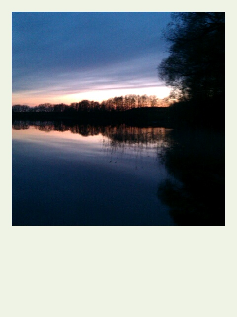 Die letzten Sonnenminuten in Dargersdorf