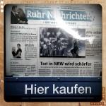 Überraschung - das Paareprojekt ist sogar auf der Titelseite der Ruhr-Nachrichten. Wahnsinn!